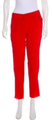 Jenni Kayne Mid-Rise Straight-Leg Pants