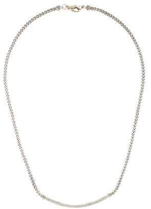 John Hardy Diamond Bar Necklace silver Diamond Bar Necklace