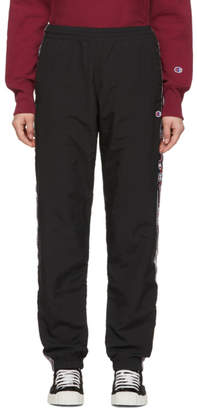 Champion Reverse Weave Black Sideline Lounge Pants