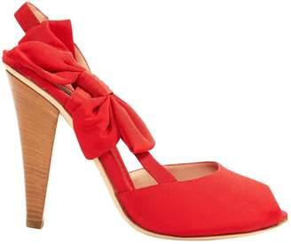 Moschino Cloth heels