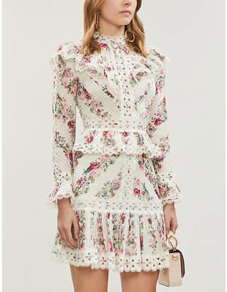 Zimmermann Honour floral-patterned cotton top