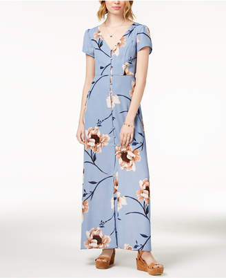 Trixxi Juniors' Printed Maxi Dress