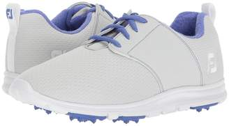 Foot Joy FootJoy Enjoy Spikeless Mesh Saddle Women's Golf Shoes