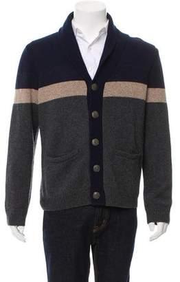 Rag & Bone Striped Wool Cardigan