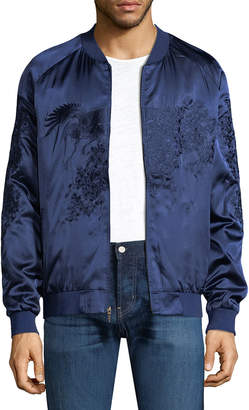Standard Issue Satin Bomber Jacket