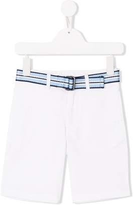 Ralph Lauren Kids striped belted shorts