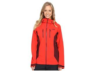 The North Face Dihedral Shell Jacket (High Risk Red/Deep Garnet Red
