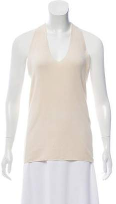 Calvin Klein Collection Cashmere Sleeveless Top