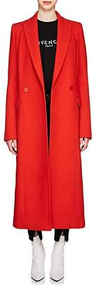 Givenchy Women's Wool Double-Breasted Coat - Red