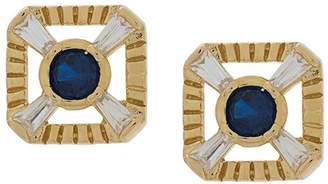 V by Laura Vann Eleanor blue studded earrings