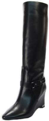 Luis Onofre Black Wedge Boot