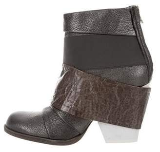 VPL Leather Ankle Boots