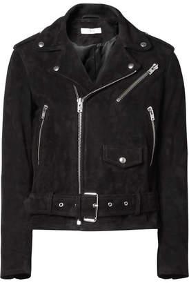 IRO Guape Suede Biker Jacket - Black