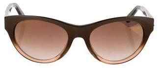 Just Cavalli Mirrored Cat-Eye Sunglasses