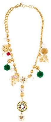 Dolce & Gabbana Decorative Lavalier Charm Necklace