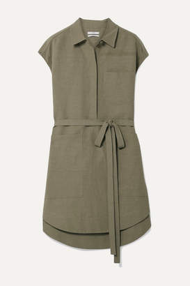 Co Woven Tunic - Army green