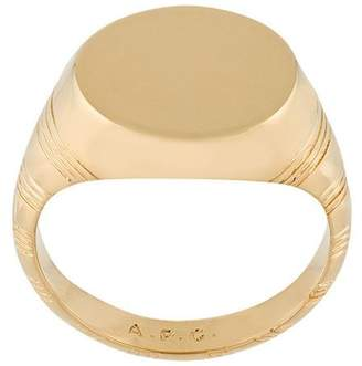 A.P.C. Rayure ring