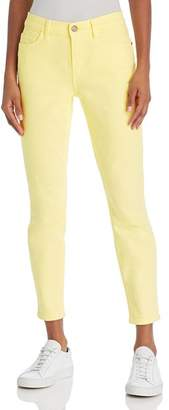 Current/Elliott The Stiletto Ankle Skinny Jeans in Acid Yellow