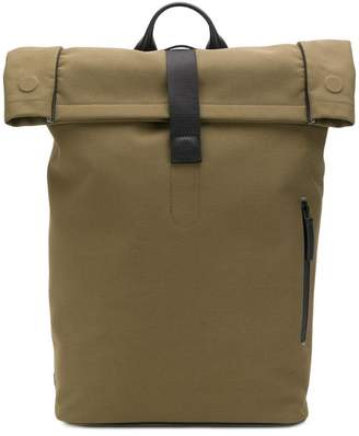 Troubadour top handle backpack