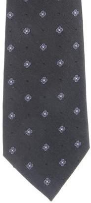 Valentino Embroidered Silk-Blend Tie