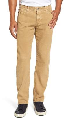 AG Jeans Graduate Tailored Straight Leg Corduroy Pants