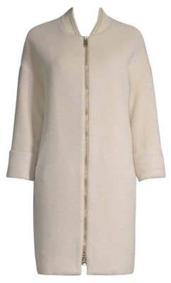 Herno Virgin Wool Silk Trench Coat