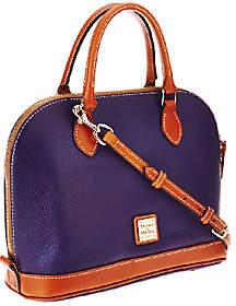 As Is Dooney & Bourke Pebble Leather Zip Zip Satchel $125.17 thestylecure.com