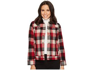 Pendleton Timber Plaid Wool Jacket Women's Coat