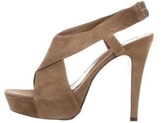 Diane von Furstenberg Crossover Platform Sandals