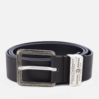 Diesel Men's Guarantee Leather Belt