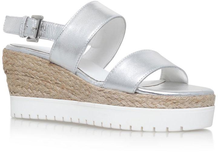 Silver Wedge Heels - ShopStyle Australia