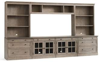 Pottery Barn Livingston Large Media Suite with Drawers