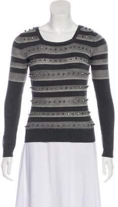 Temperley London Merino Wool Embellished Sweater