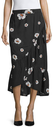 A.N.A Womens High Low Maxi Skirt
