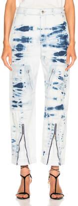 Stella McCartney Tie Dye Jean in Light Blue | FWRD