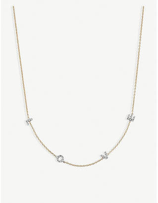 Rosegold The Alkemistry Kismet by Milka Love 14ct rose-gold and diamond necklace