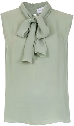 Olympiah silk Spinello blouse
