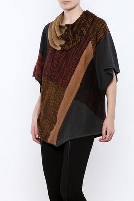 Curio Boxy Cowl Sweater $128 thestylecure.com