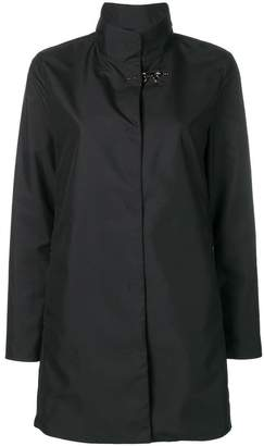 Fay metal hook car coat