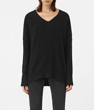 Alpha V-Neck Sweater $250 thestylecure.com