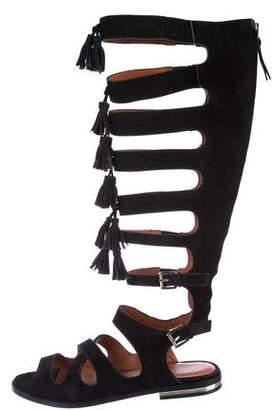Rebecca Minkoff Suede Gladiator Sandals