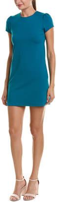 Susana Monaco Gathered Cap Sleeve Mini Dress