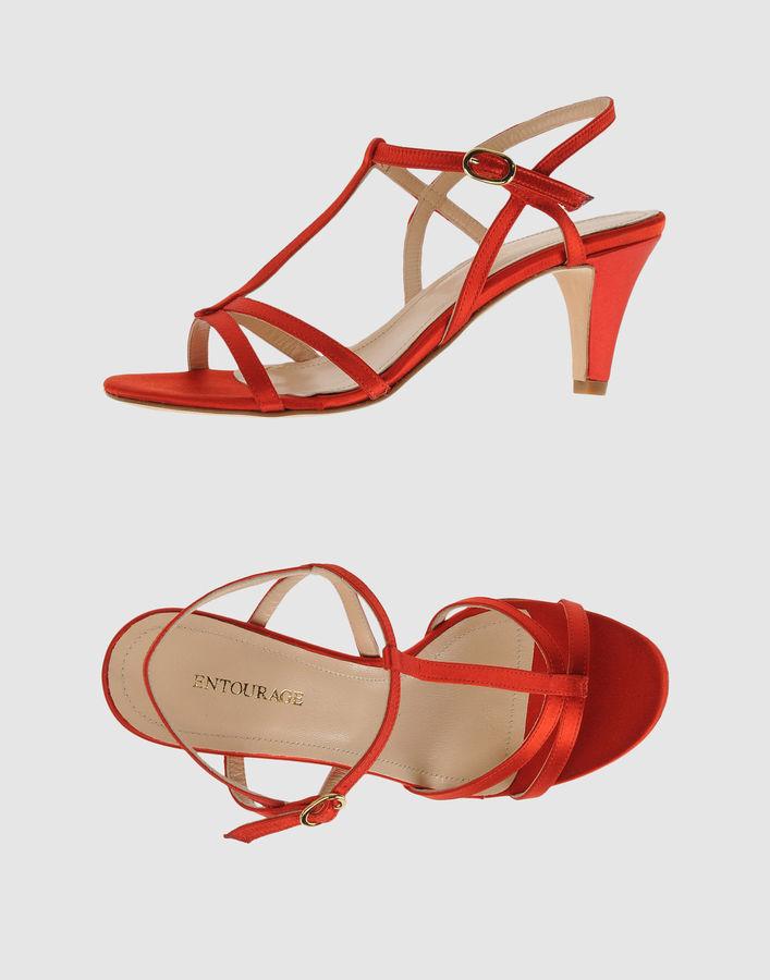 Entourage High-heeled sandals