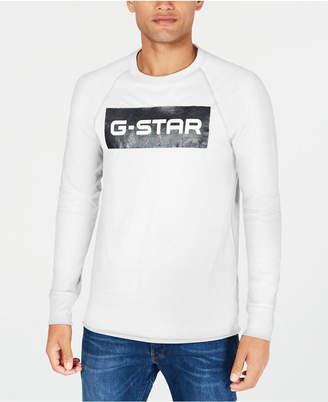G Star Mens Block Logo Graphic T-Shirt