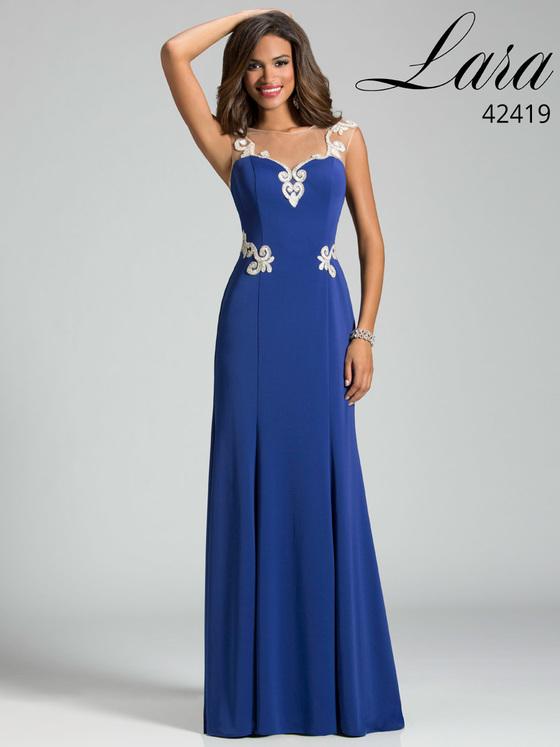 Lara Dresses - 42419 Dress In Sapphire