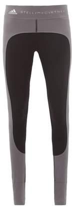 adidas by Stella McCartney Training Comfort Stirrup Performance Leggings - Womens - Black Grey