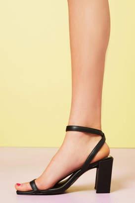 Jaggar Footwear Squared Shoe Black