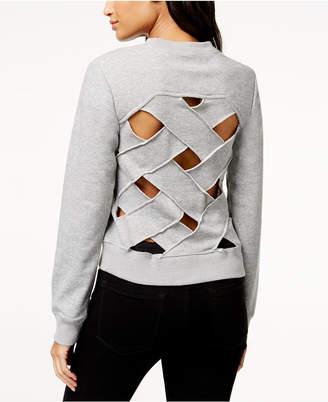 Rachel Roy Crisscross-Back Sweatshirt, Created for Macy's