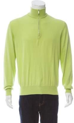 Loro Piana Half-Zip Knit Sweater