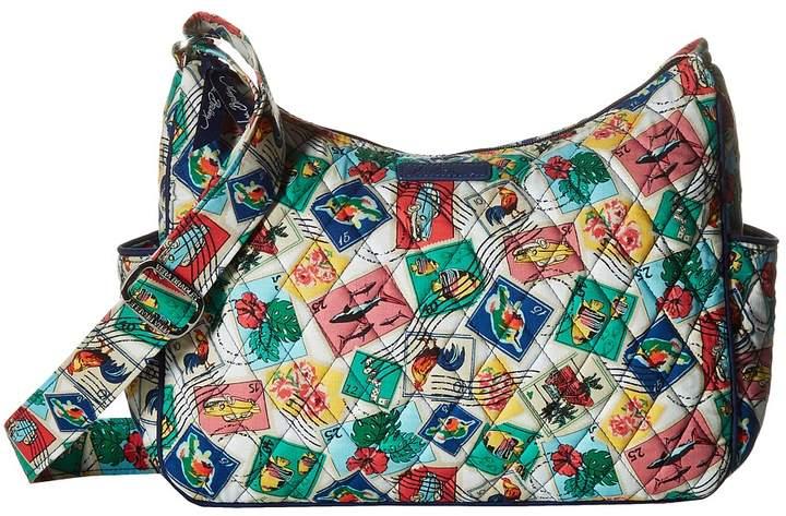 Vera Bradley On the Go Cross Body Handbags - CUBAN STAMPS - STYLE